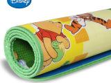 迪士尼哈瑞米奇乐园+小熊维尼双面地垫筒状宝宝爬行垫