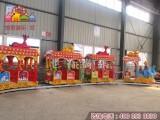 天津游乐场大象轨道小火车设备 投资少的小火车创业项目