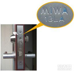 MIWA01门锁