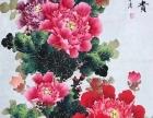 陈芬清四尺国画玄关画花开富贵