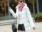 女装外贸原单女式羽绒棉服棉衣女中长款棉袄韩版修身外套特价清仓