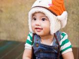 新款男宝女宝秋冬儿童针织帽子宝宝保暖毛线帽儿童秋冬帽