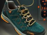 奇峰骆驼户外登山鞋2014秋冬男士新款反毛皮户外徒步鞋正品