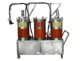 全自動環氧樹脂灌膠機AB膠雙液打膠機PU自動點膠設備