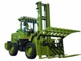 厂家供销叉石头用的四驱叉车型号5吨越野叉车