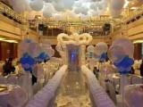 马鞍山小丑表演 婚庆气球 满月周岁十岁喜宴气球 薇一气球