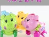 GGA上链玩具 Q版上链小猪玩具 早教玩具上链玩具批发