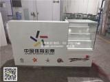 新款木质烤漆中国体育彩票柜台收银台福利彩票柜玻璃展示柜台