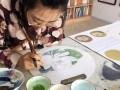 大连学国画就到中立方画室,工笔写意花鸟山水专业教师小班授课