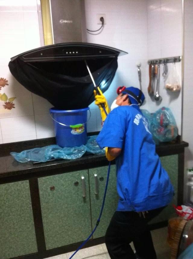 良乡专业的油烟机洗衣机清洗