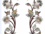家具水移画 低温水转印加工 手绘 木纹 仿贝雕家具印花
