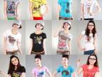官网夏装短袖T恤女韩版大码卡通t恤学生打底衫纯棉短袖 地摊货源