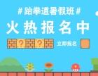 上海暑假跆拳道馆/上海跆拳道暑假培训班/火热报名中