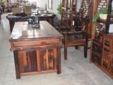 老船木茶台茶桌椅组合原木实木家具茶几茶桌椅组合厂家直销