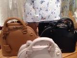 现货 2014早秋S家专柜新款 印花雏菊贝壳包包单肩手提包 支持