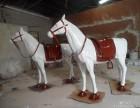 假马仿真马玻璃钢假马在商场活动中大量使用