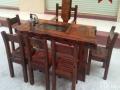 乌鲁木齐市老船木茶桌椅子仿古茶台实木沙发茶几餐桌办公桌家具