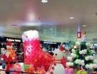 元旦商铺气球装饰、圣诞节商场气球布置、婚庆气球布置