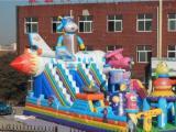 德阳市儿童游乐设备出租充气城堡充气沙池钓鱼池