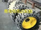 广州铲车实心轮胎15-19.5