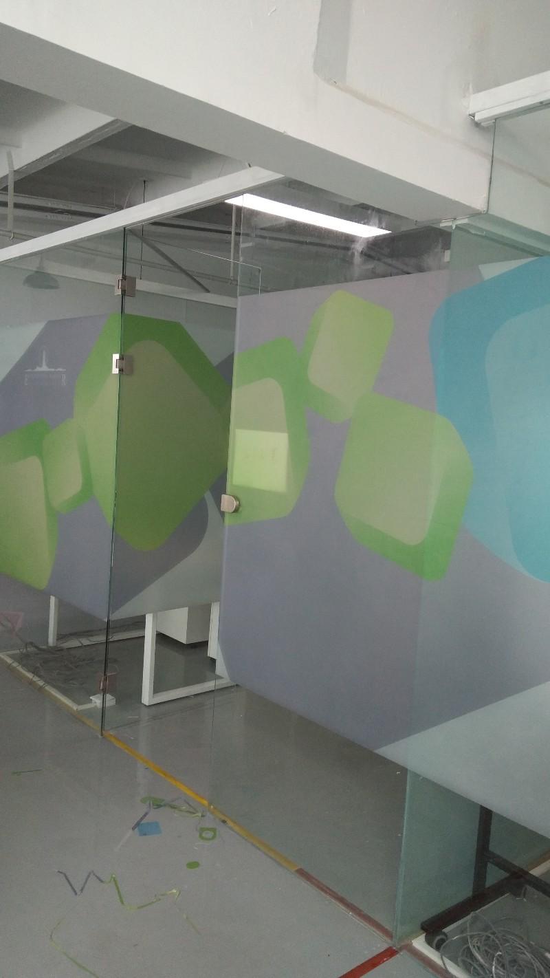 丰台玻璃膜喷绘雕刻