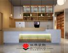 合肥小清新餐饮店装修 淡雅自然 营造有意境的用餐环境