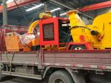 惠州销量好的移动进口树枝粉碎机-移动式木材削片机价格