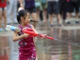 地滩热卖 大号气压水枪 饮料瓶玩具水枪 环保水枪 水炮儿童玩具