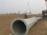 廊坊电力钢杆可图纸定制钢桩基础 钢杆基础打桩
