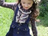 韩国童装 女童秋冬新品 印花圆领菲儿边纯棉加厚长袖T恤2719