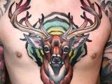南昌纹身,纹身培训,纹身图库,动物世界 NEW SCHOOL