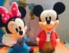 正版迪士尼全雕塑米奇米妮存钱罐