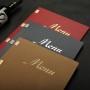 菜谱印刷菜单印刷免费菜谱设计北京免费菜谱摄影