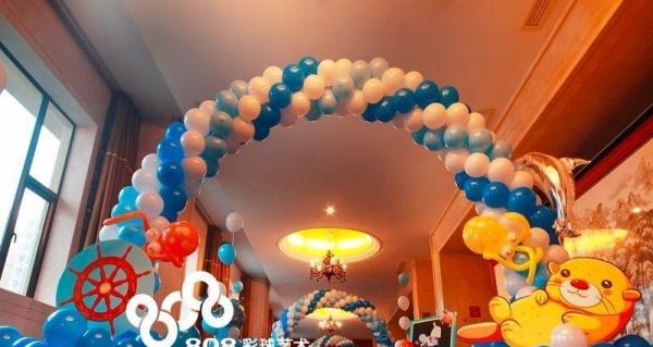 4S店汽车气球拱门造型氦气球装饰logo气球印刷高清图片