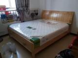 厦门实木床,板式床欧式床橡木床弹簧床垫椰棕床垫,款式多样