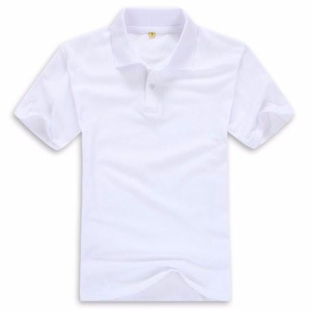 韩版修身透气双领撞色文化衫服装厂家加工