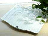 【正厂出品】锦丰优适家品沥水托盘杯架塑料餐盘