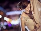 一字肩的婚纱配什么项链和配饰好?南阳韩国印象帮你来挑选!