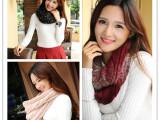 韩国新款围巾 秋冬季加厚保暖女士围巾围脖 一件代发 厂家批发