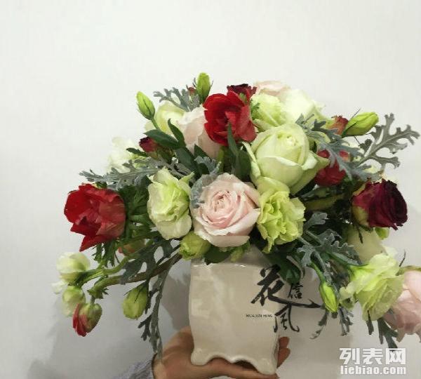 花 开业花篮 玫瑰花束