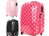 韩国正品可爱ABS西瓜红波点行李箱旅行箱拉杆箱包登机箱女三色