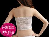 2014加大码抹胸文胸 蕾丝裹胸 有长款黑色 白色围胸