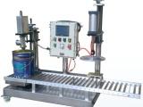 东莞固化剂 稀释剂 防水涂料自动灌装压盖机