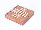 成人古典益智玩具 欧美桌游 单身贵族棋 孔明棋 独立钻石棋