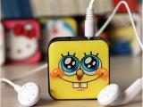 新款 方块MP3 插卡mp3 卡通创意MP3多图案 礼品MP3