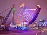河南主题乐园的夜景灯光设计规划,夜晚才是乐园的狂欢