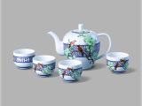 玉堂富贵茶具 瓷器茶具 创意瓷器 餐具瓷器 高档瓷器工艺品摆件