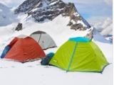 供应双人双层露营旅行玻杆帐篷