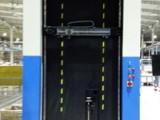 电梯厅门平面度智能非接触检测系统