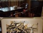 武汉办公室书法字画现货批发、江夏酒店装饰国画裱框送货安装